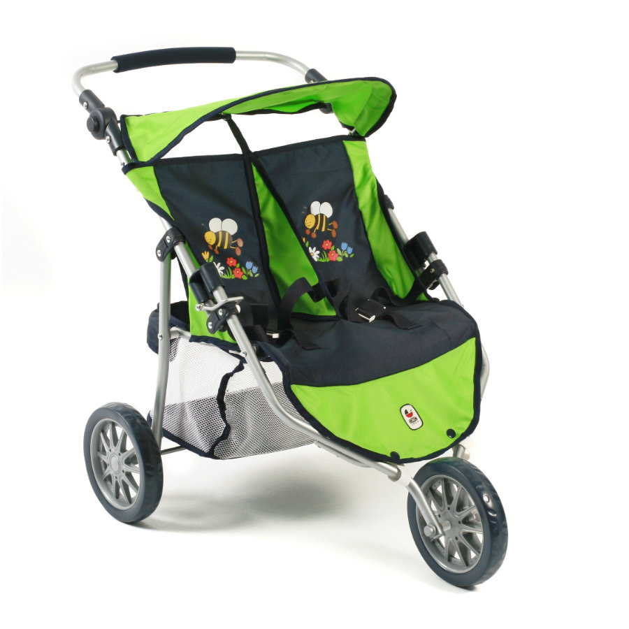 BAYER CHIC 2000 Zwillings-Buggy JOGGER bumblebee