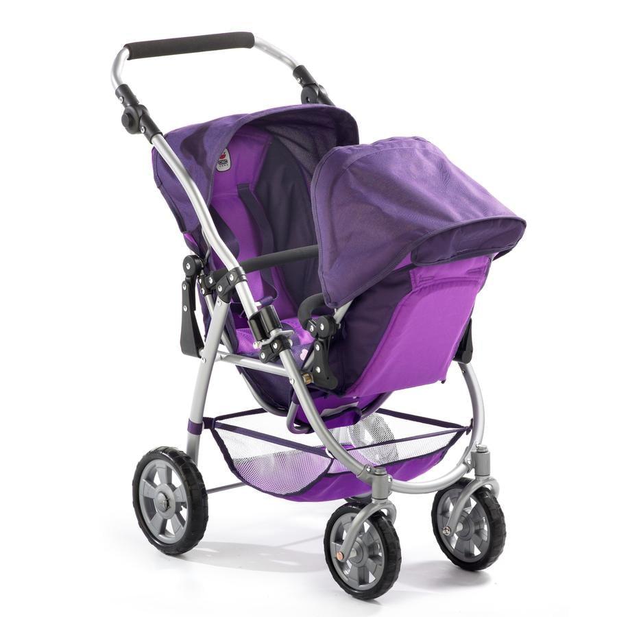 BAYER CHIC 2000 TANDEM Wózek sportowy dla lalek VARIO 689-25