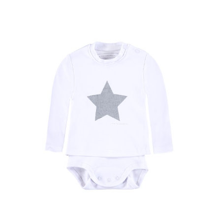 BELLYBUTTON Baby Romper lange mouw bright white