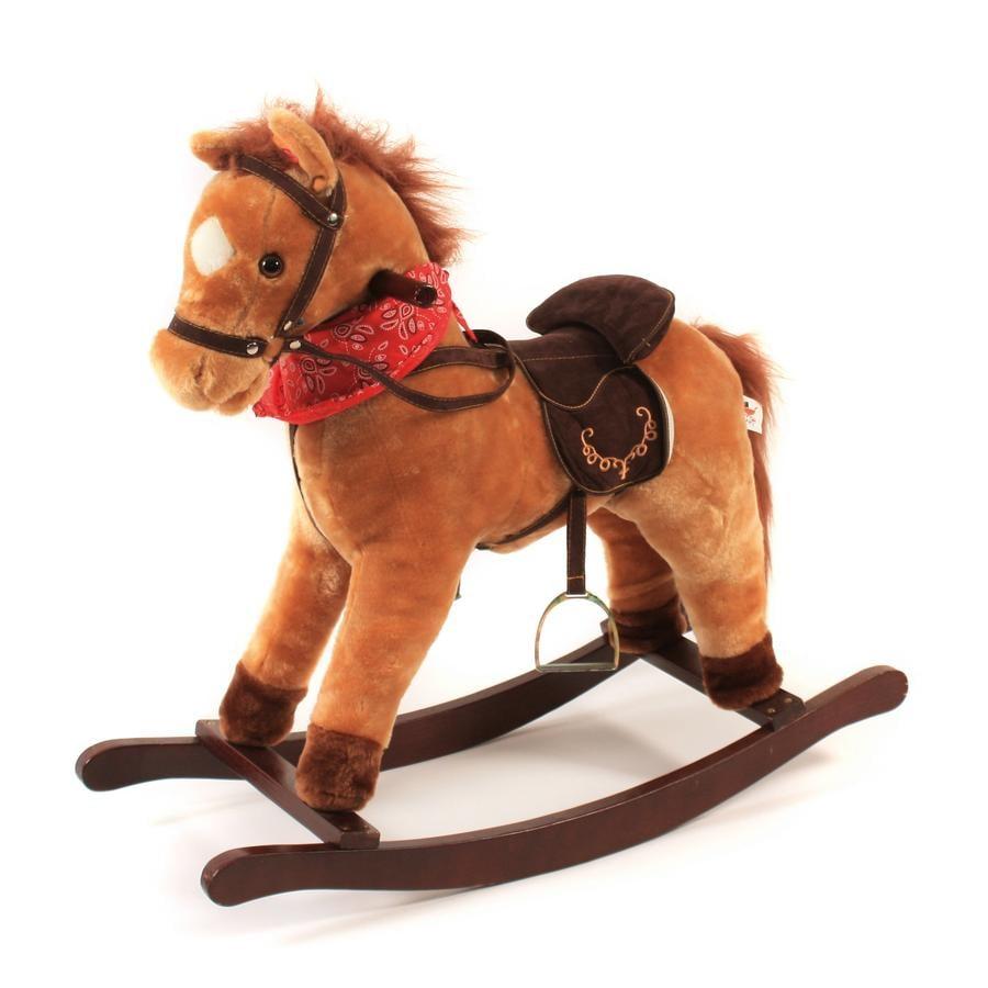 BAYER CHIC 2000 Cavallo a dondolo Cowboy