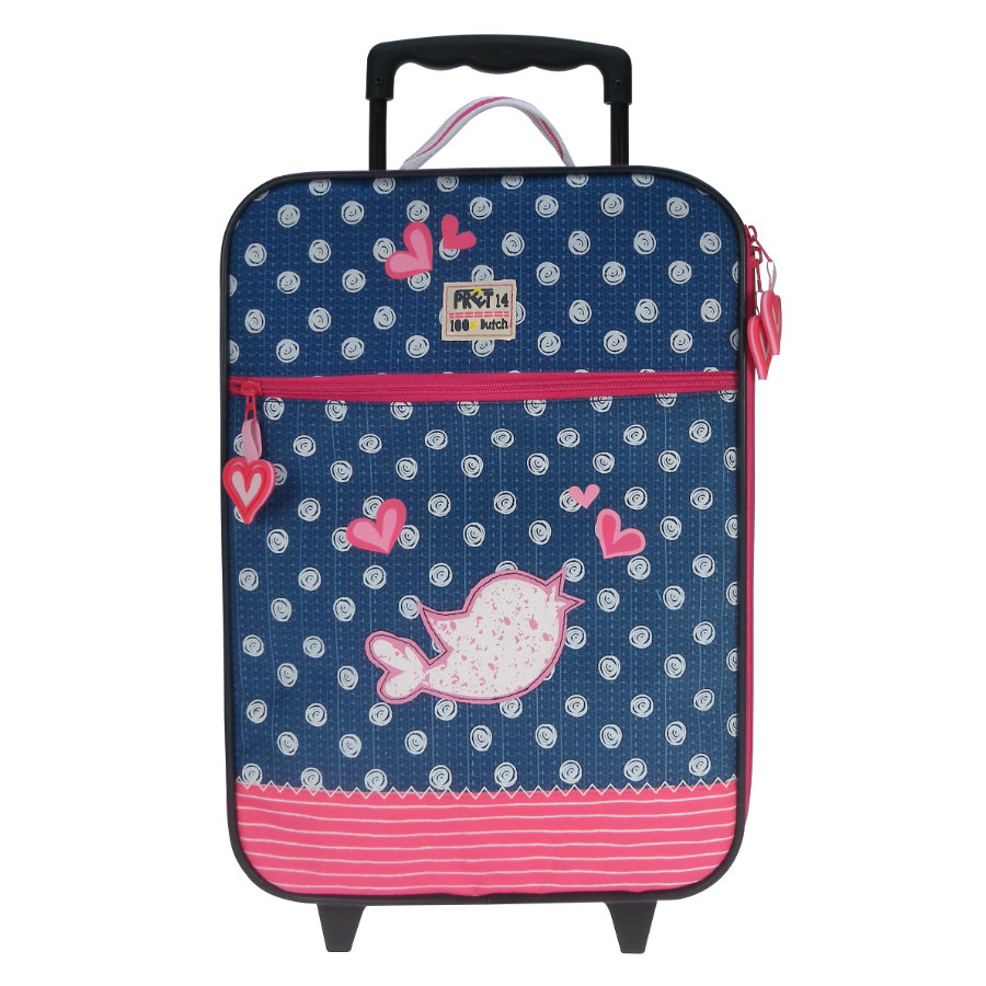 CANDIDE Trolley - Pret Denimized, navy, 40x30x14cm