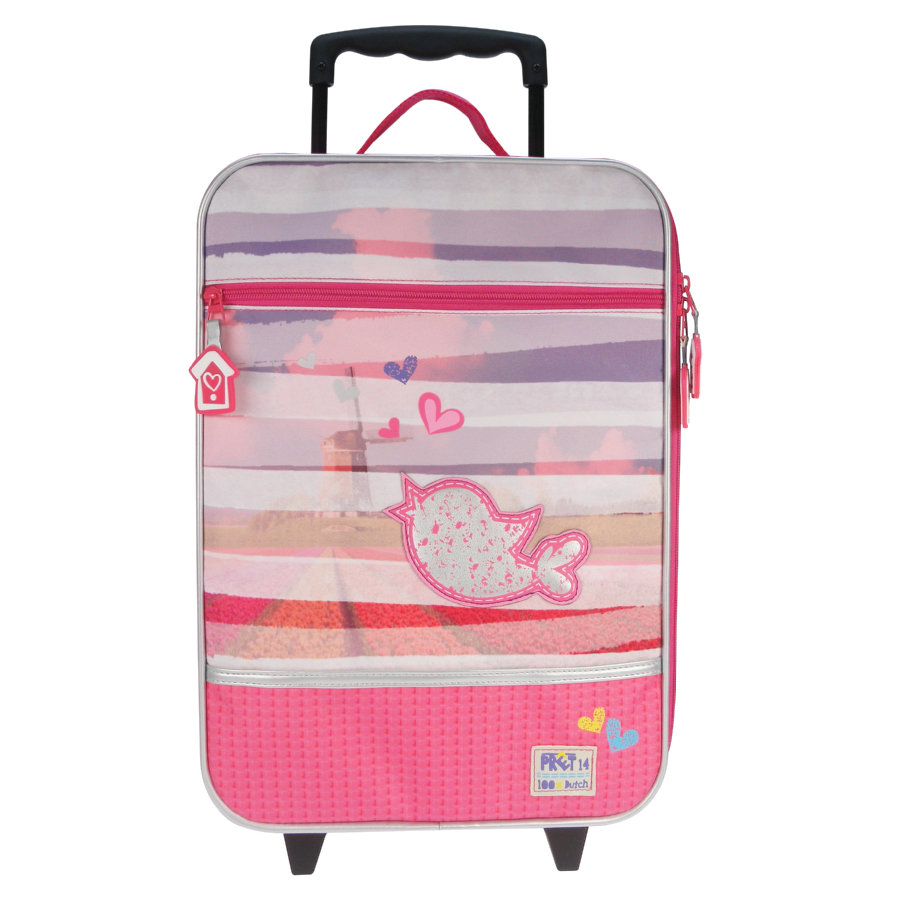 CANDIDE Trolley - Pret Denimized, pink, 40x30x14cm