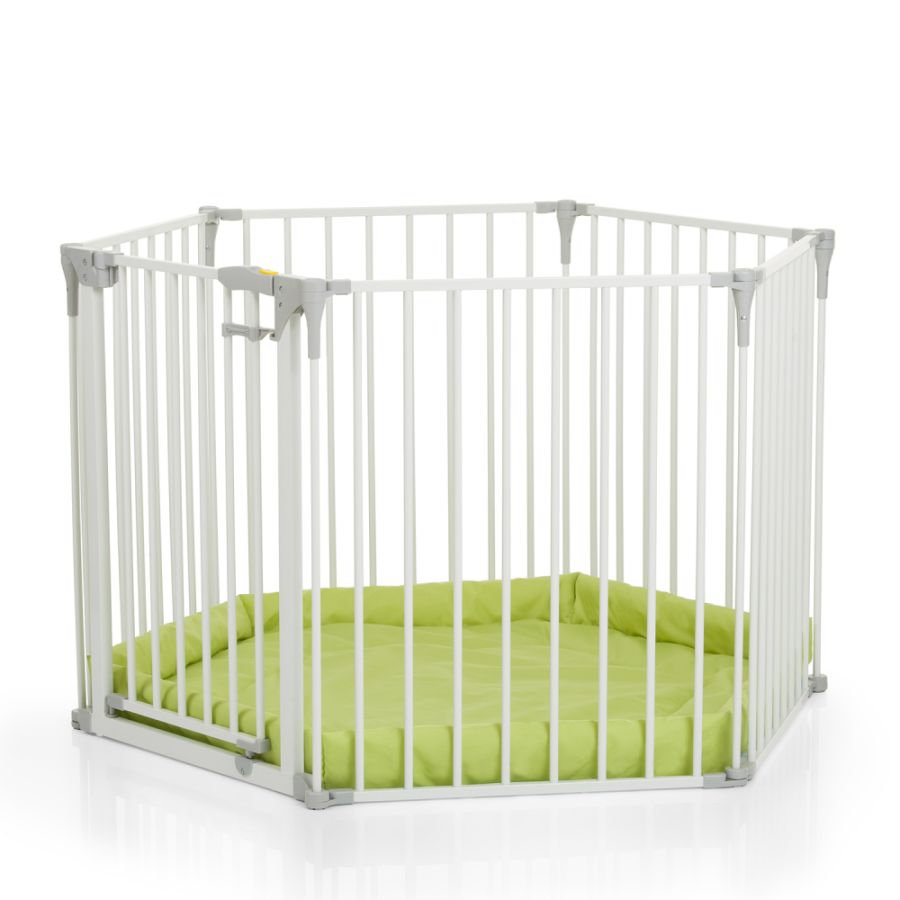 hauck Parc barriere de sécurité modulable enfant blanc 115 cm