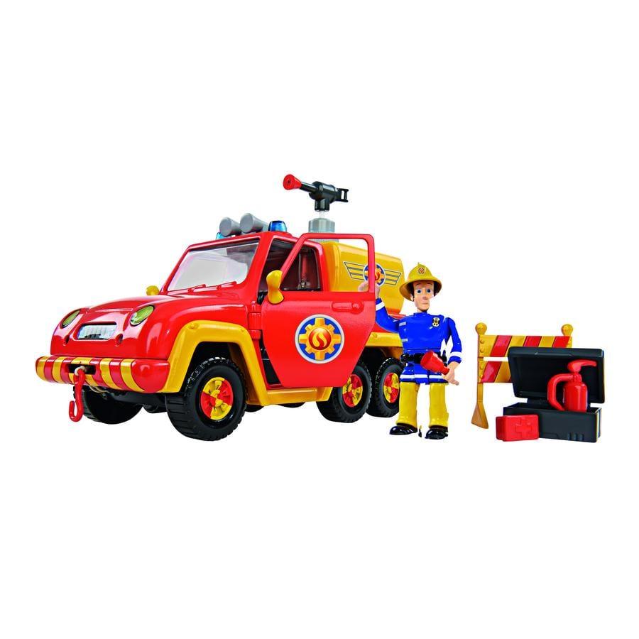 SIMBA Brandweerman Sam - Brandweerauto Venus met figuur