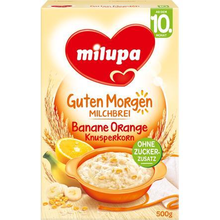 Milupa Milk Mash Crunchy Grain Banana-Orange