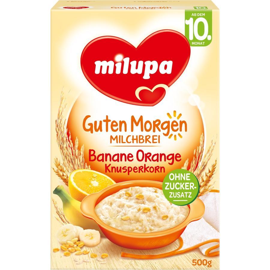milupa Milchbrei Knusperkorn Banane Orange 500 g