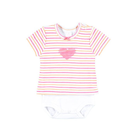 KANZ Girls Baby Body dziecięce bright white