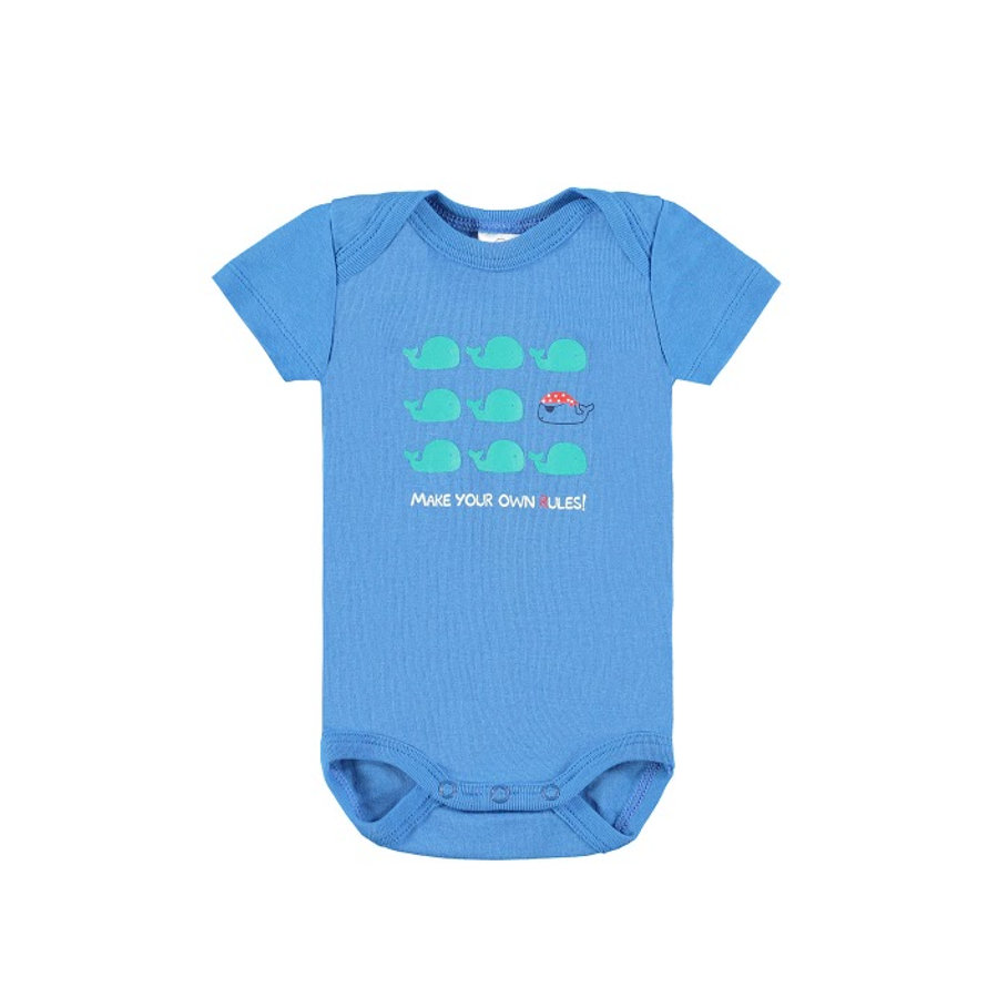 KANZ Boys Baby Body 1/4 Arm blue
