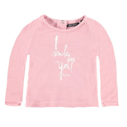 MARC O`POLO Girls Mini Longsleeve cloud dancer