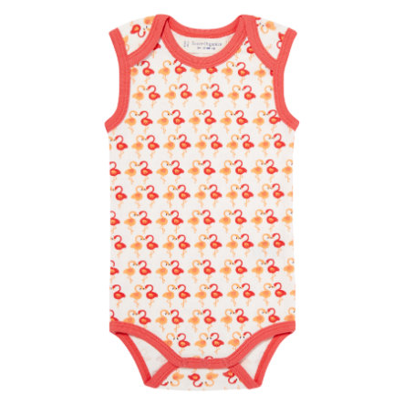 SENSE ORGANICS Girls Body YARO dark coral flamingo