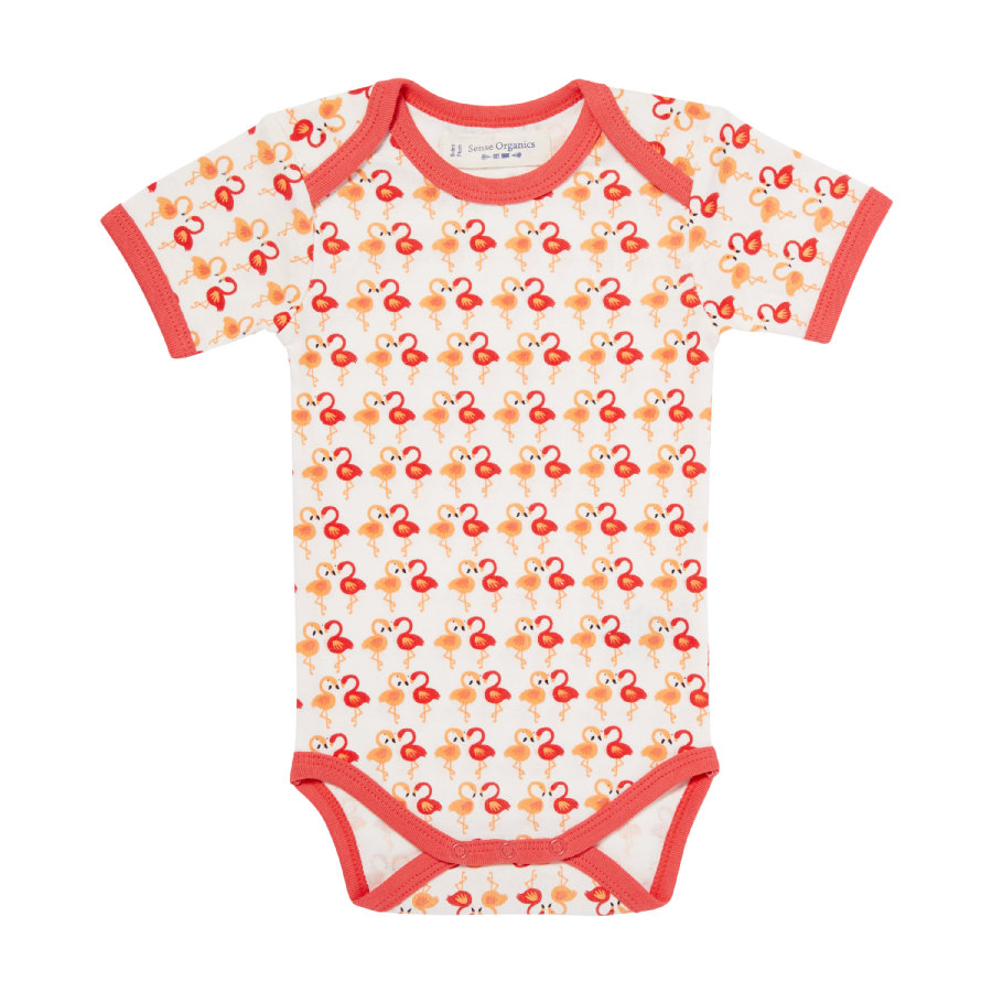 SENSE ORGANICS Girls Body YVON dark coral flamingo