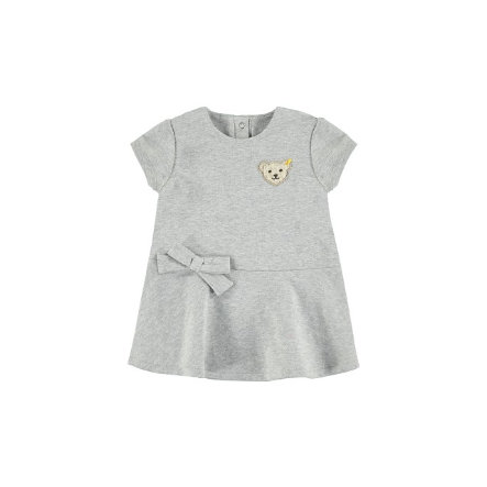 STEIFF Girls Kleid grey melange