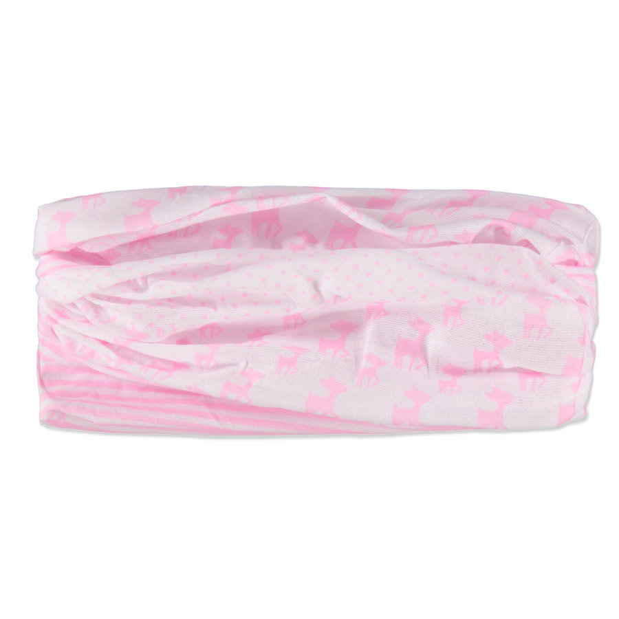 LÄSSIG Twister Girls Multifunkční šátek Lela light pink