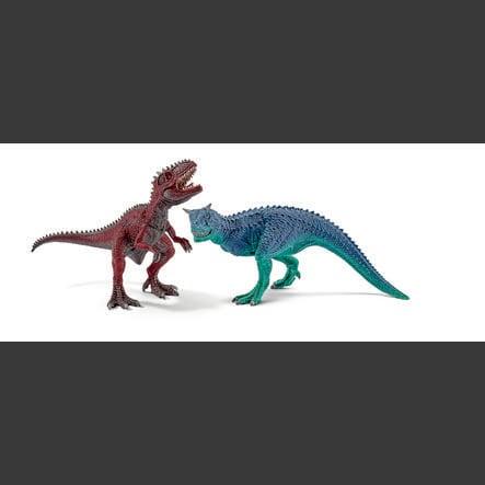 SCHLEICH Dinosaures - Carnotaure et giganotosaure, petits 42215
