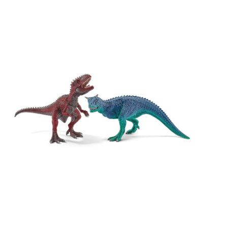 SCHLEICH Mały zestaw Karnotaurus i Giganotozaurus 42215