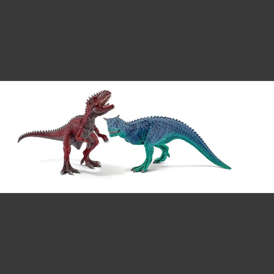 SCHLEICH Dinosaurier - Carnotaurus und Giganotosaurus, klein 42215