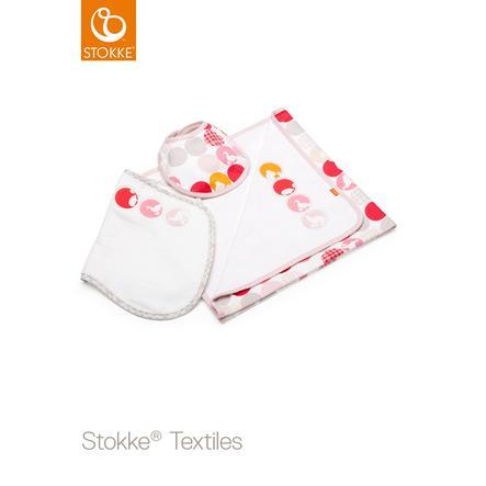 STOKKE® Jersey Decken Set Silhouette Pink