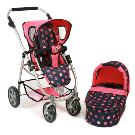 "BAYER CHIC 2000 Passeggino bambola combi 2in1 ""Emotion"" 638-20"
