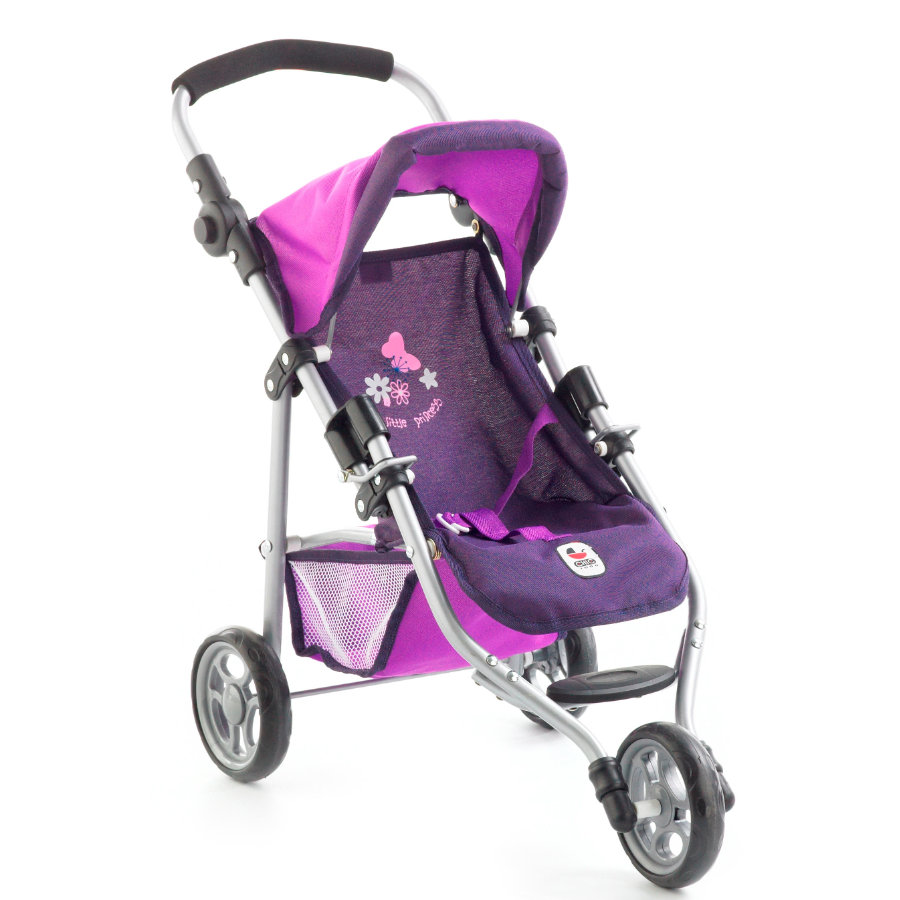 BAYER CHIC 2000 Poussette pour poupée Jogger LOLA, violet