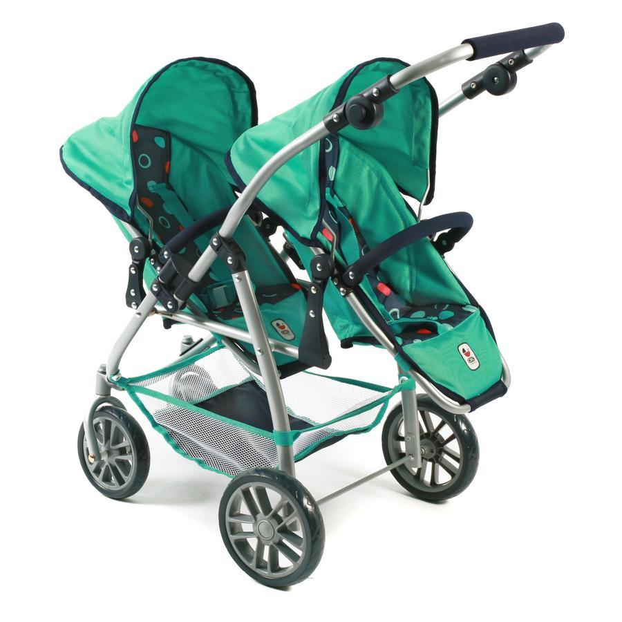BAYER CHIC 2000 TANDEM Podwójny wózek dla lalek VARIO 689-21