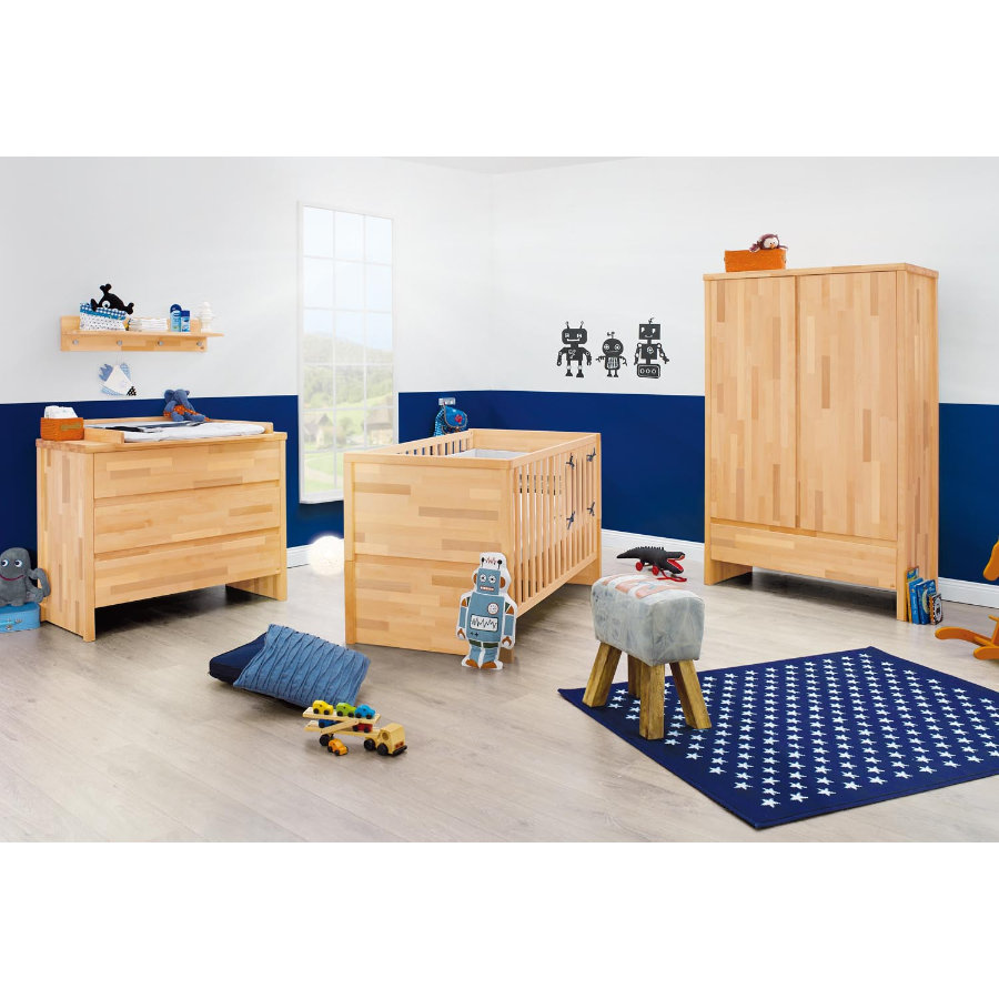 PINOLINO Chambre d'enfant Fagus, large, 3 pcs