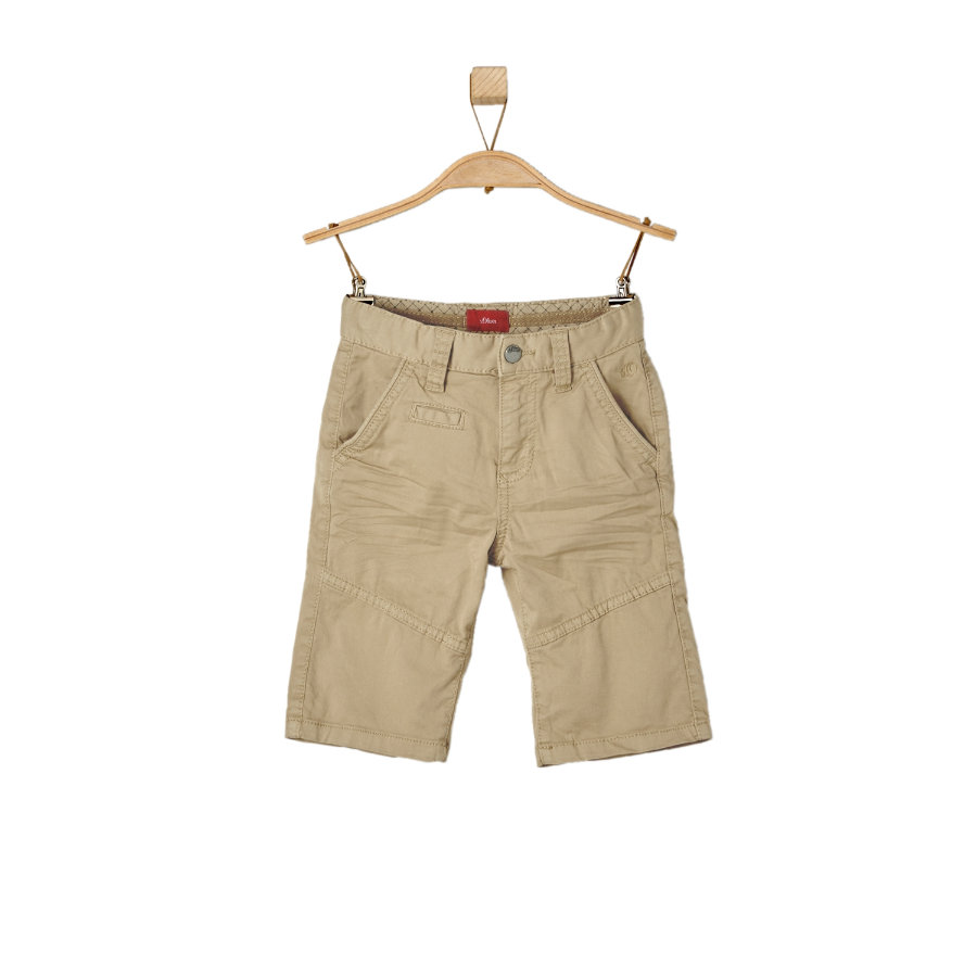 s.OLIVER Boys Bermudy beige