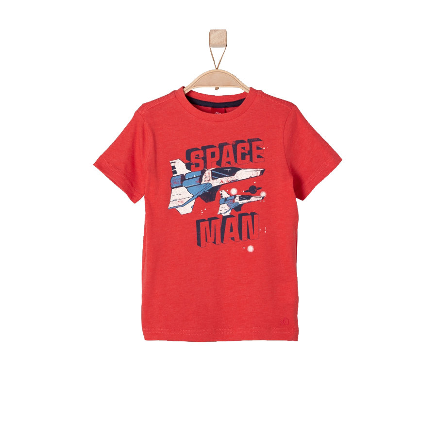s.OLIVER Boys T-Shirt red melange