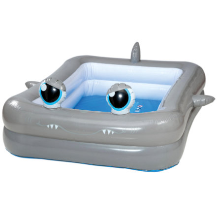 HAPPY PEOPLE Jumbo-Pool im Hai-Design, ca. 196x148x46cm