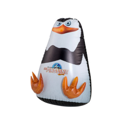 HAPPY PEOPLE De Pinguins van Madagascar - Pinguin met Sprayfunktie, ca. 53x57x83cm