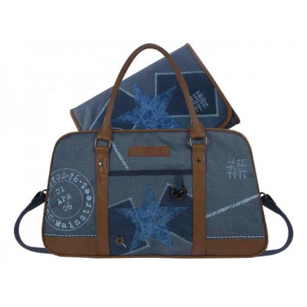STAPELGOED Thougher - Bolso para pañales M-blue