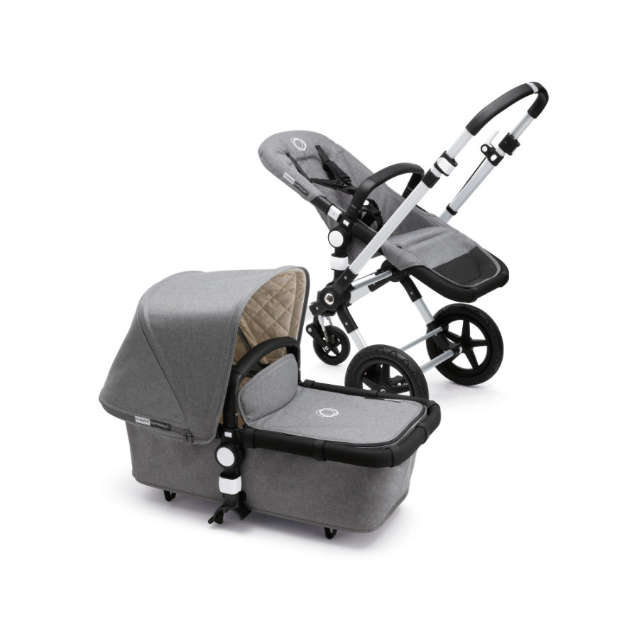 bugaboo Kinderwagen Cameleon 3 Classic Plus Collection Grey Melange
