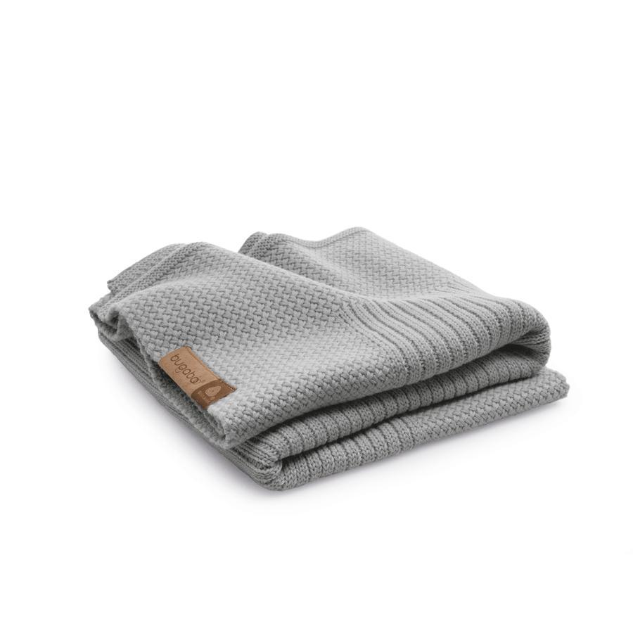 BUGABOO Katoenen deken Soft Lichtgrijs Melange