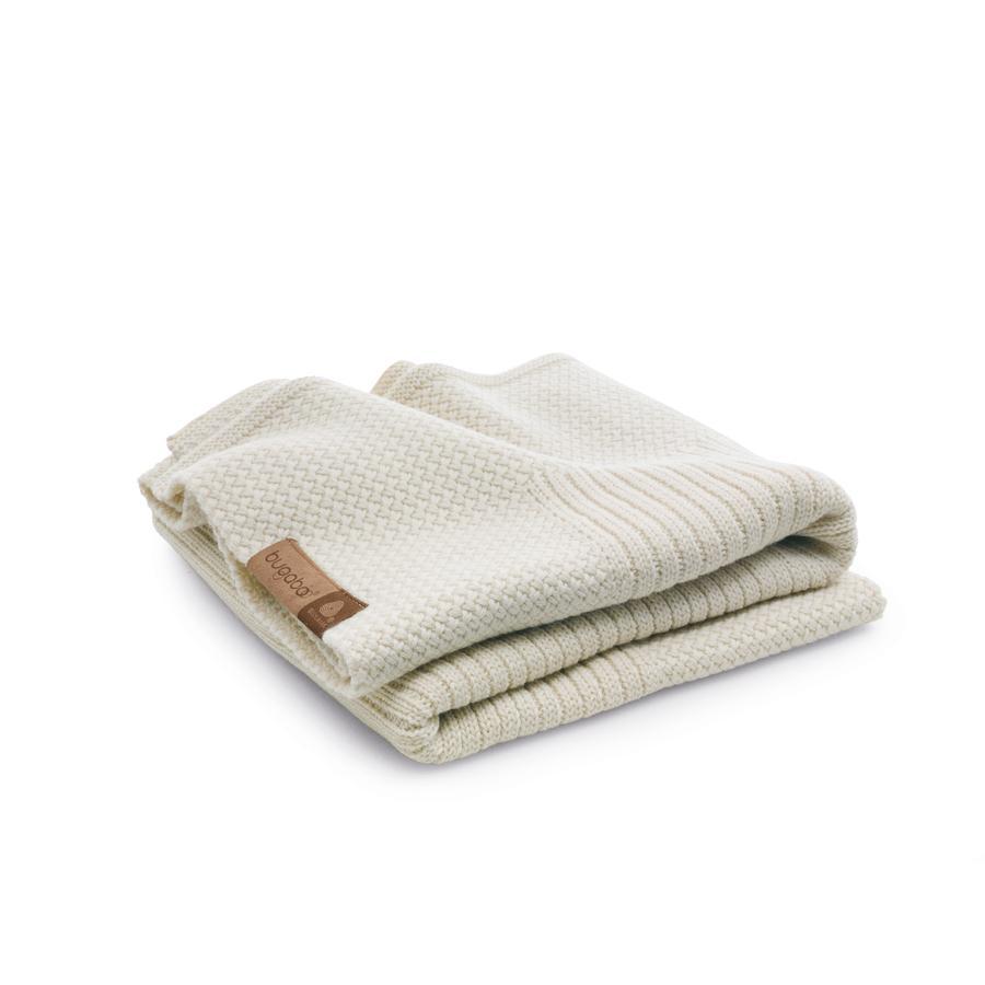 BUGABOO Baumwolldecke Soft Naturweiß Melange
