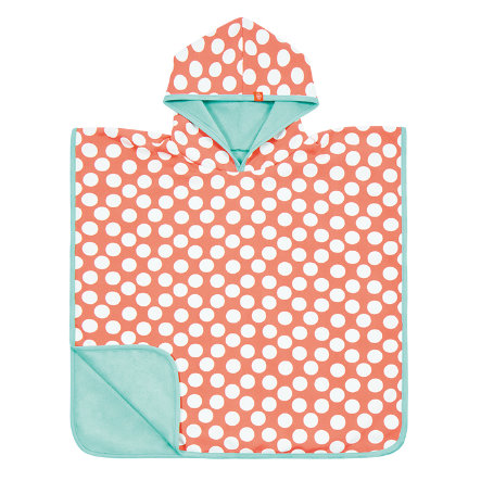 LÄSSIG Girls Bade-Poncho jolly dots
