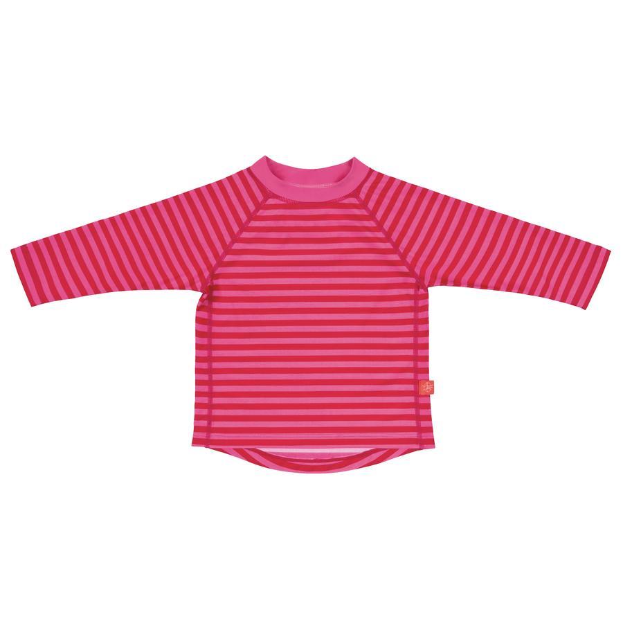 LÄSSIG Girls UV tričko s dlouhým rukávem proužkované pink