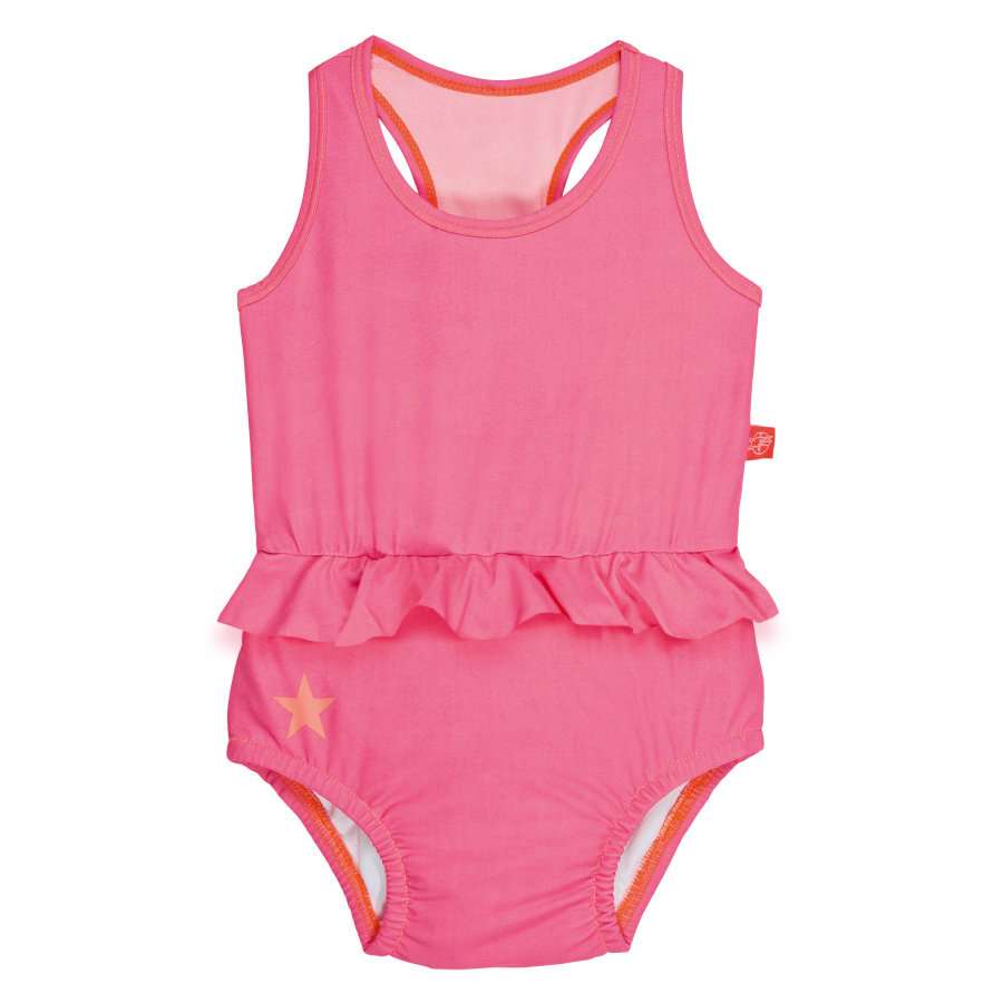 LÄSSIG Girls Strój kąpielowy light pink