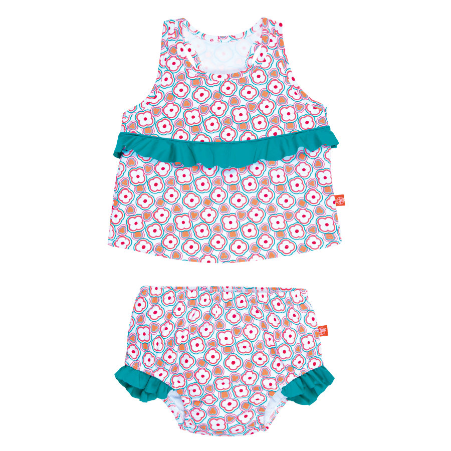 LÄSSIG Girls Tankini flowers