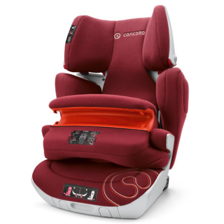 CONCORD Kindersitz Transformer XT Pro Bordeaux Red