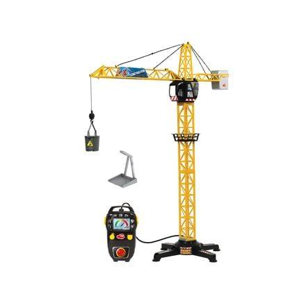 DICKIE Toys Grue géante radiocommandée jaune