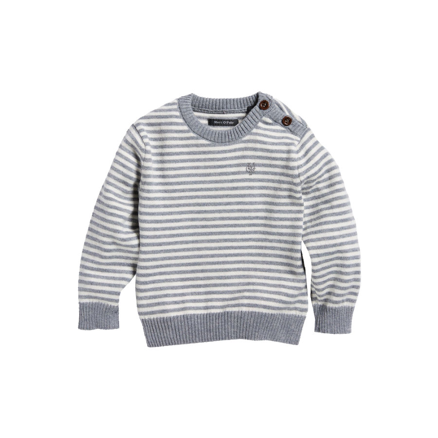 MARC O`POLO Boys Pullover gray melange