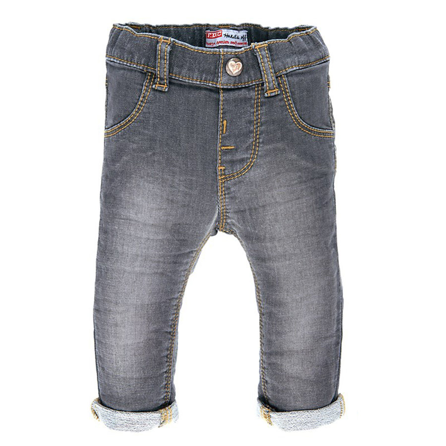 FEETJE Girls Mini Joggpants grey denim
