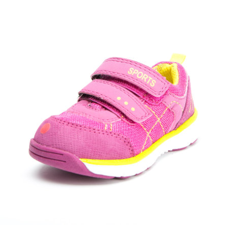 Be Mega Girls Halbschuh pink-neon yellow