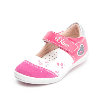 S.OLIVER-SHOES Girls Sandale Fuxia