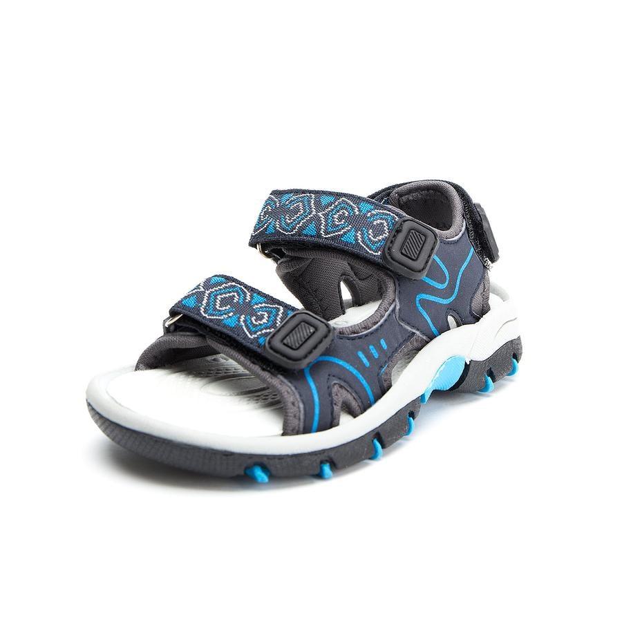 Be Mega Girl s Sandale bleu-royal