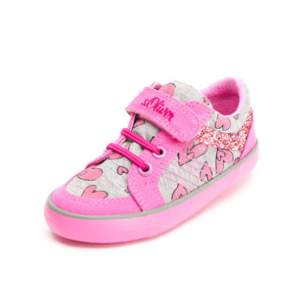 S.OLIVER-SHOES Girls Halbschuh pink/grau