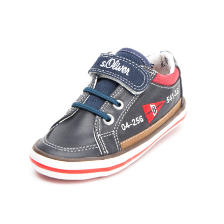 S.OLIVER-SHOES Boys Halbschuh Navy