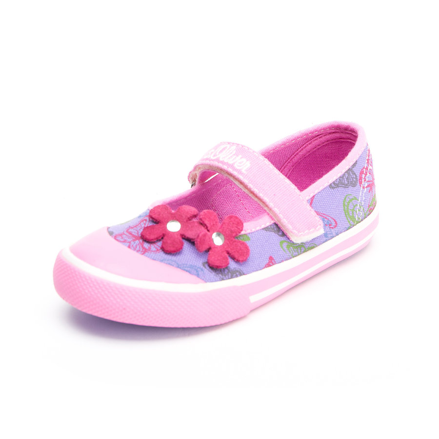 S.OLIVER-SHOES Girls Sandale Viola lila/pink