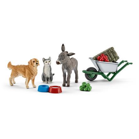Schleich Zestaw do karmienia zwierząt 41423