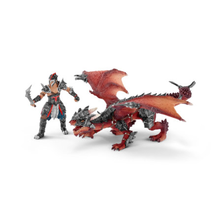 SCHLEICH Guerrier avec dragon 70128