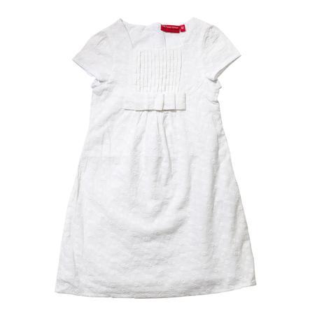 SALT AND PEPPER Girl s robe blanc